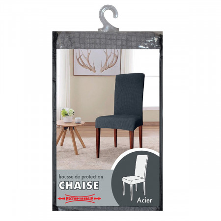 packaging acier chaise