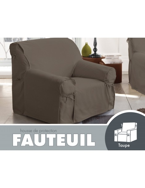 packaging fauteuil silco taupe recto