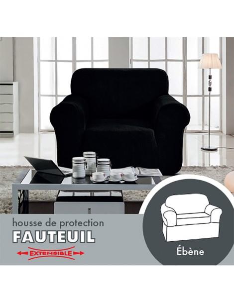 packaging fauteuil noir recto