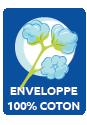 Enveloppe coton